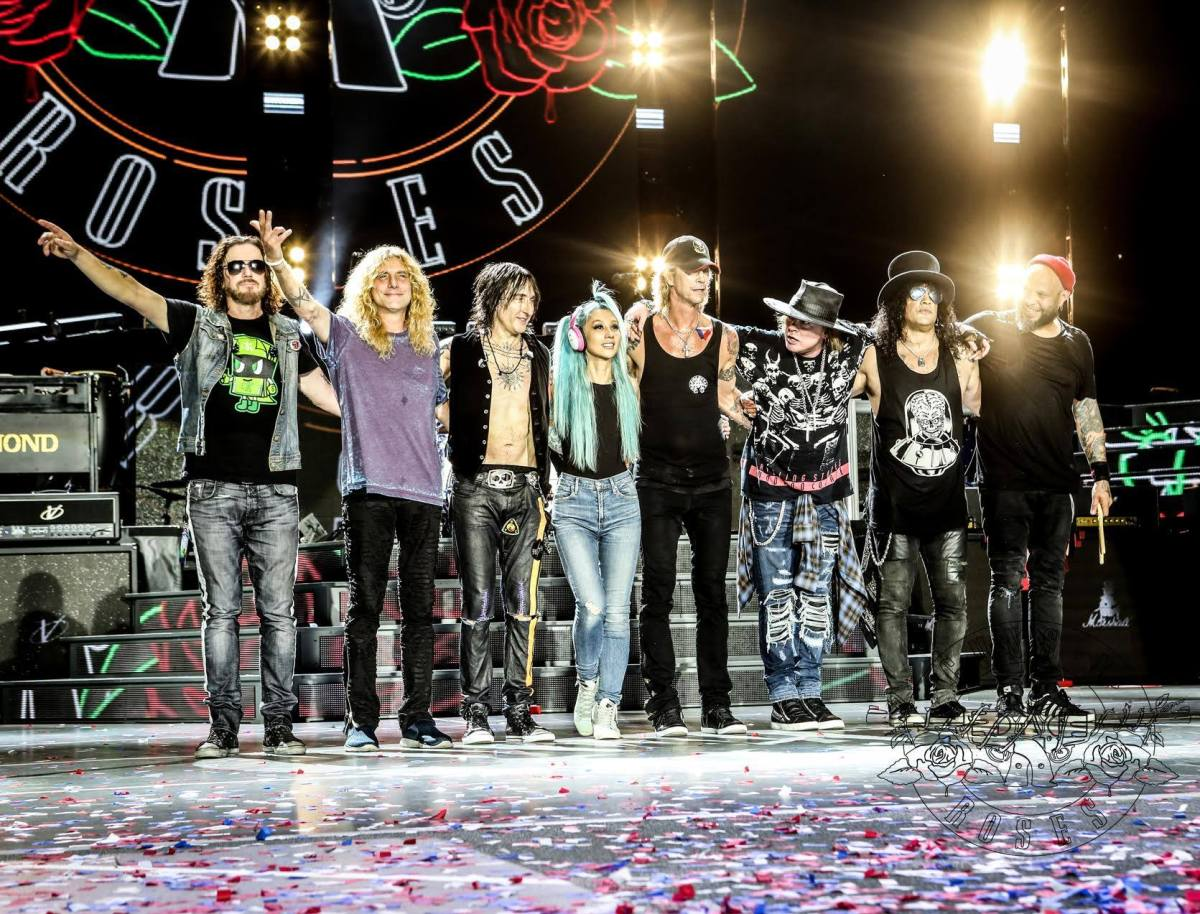 Steven Adler Joins Guns N' Roses in Cincinnati
